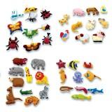 PACK 40 PIEZAS ANIMALES PARA TAPIZ
