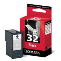 LEXMARK INKJET P910/4300/6200 Nº32 NEGRO 18CX032E