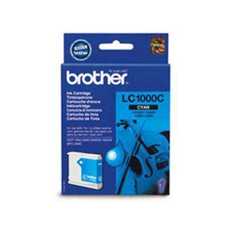 BROTHER MFC/DCP-130C/240C/330C/440CN CYAN LC1000C