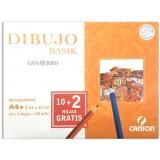 (L) LAMINA DIBUJO GUARRO BASIK A4+ REC PACK 10 H.