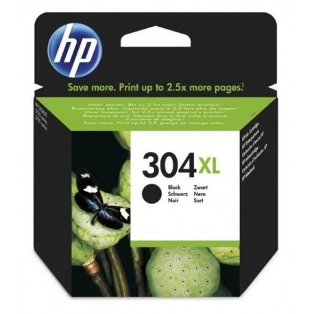 CARTUCHO ORIGINAL HP Nº 304XL - NEGRO