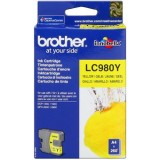 CARTUCHO ORIGINAL BROTHER LC980 - AMARILLO