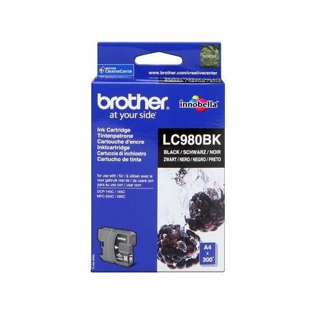 CARTUCHO ORIGINAL BROTHER LC980 - NEGRO