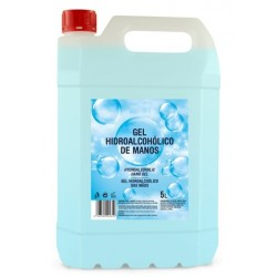 GEL HIDROALCOHOLICO DESINFECTANTE 5 LITROS