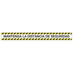 BANDA DELIMITADORA MANTENGA LA DISTANCIA