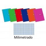 (L) CUADERNO ENRI FOLIO 80 H. MILIMETRADO