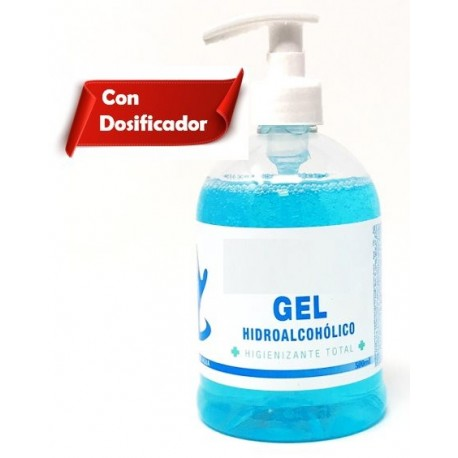 GEL HIDROALCOHOLICO DESINFECTANTE 500 ML