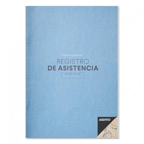 (L) REGISTRO DE ASISTENCIA ADDITIO P162