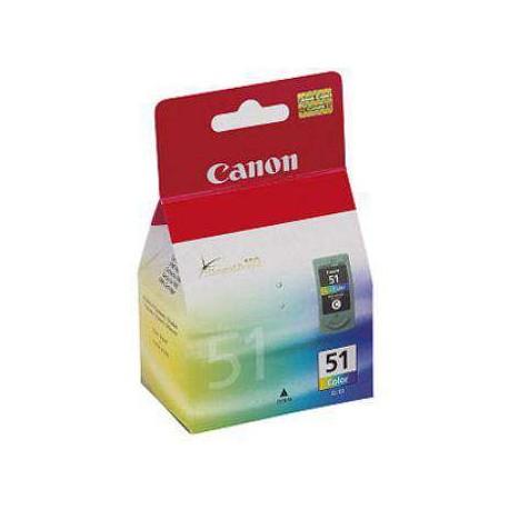 CARTUCHO ORIGINAL CANON CL-51 - COLOR