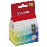 CANON PIXMA IP2200/621D/MP150 COLOR CL51