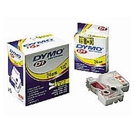 (L) CINTA DYMO D1 12MMX7M AZUL/TRANSPARENTE 45011