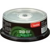 DVD-RW TARRINA 25 UNIDADES IMATION