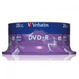 DVD+R TARRINA 25 UDS VERBATIM