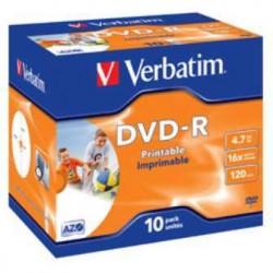 DVD-R VERBATIM PRINTABLE 4,7GB