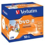 DVD-R VERBATIM PRINTABLE 4,7GB