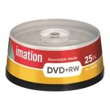 (L) DVD+RW TARRINA 25 UDS. IMATION