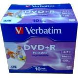 (L) DVD+R VERBATIM PRINTABLE