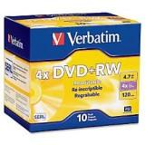 DVD+RW VERBATIM