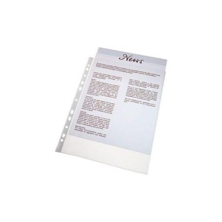 FUNDA PP A4 CRISTAL C/100 UDS ELBA
