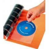 (L) BOLSA 6 BOLSILLO ADHESIVO CD'S 126X126 APLI