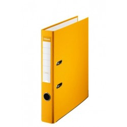 (L) ARCHIVADOR FORRADO FOLIO 50 ESSELTE AMARILLO