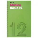 (L) CUADERNO MUSICA ADDITIO BASIC 12