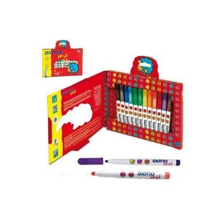 ROTULADOR GIOTTO BE-BE KIT ESCOLAR 36 UDS