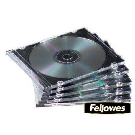 (L) ARCHIVADOR CD 1 UNIDAD SLIM FELLOWES