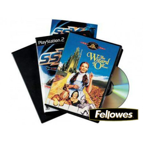 (L) ARCHIVADOR DVD PACK 5 UNIDADES