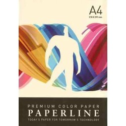 PAPEL COLOR A4 80 GRS. 500 H. CREMA