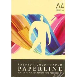 PAPEL COLOR A4 80 GRS. 500 H. AMARILLO CLARO