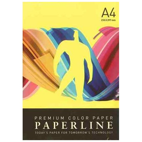 PAPEL COLOR A4 80 GRS. 500 H. AMARILLO INTENSO