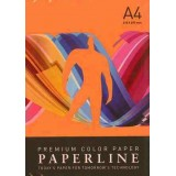 PAPEL COLOR A4 80 GRS. 500 H. NARANJA INTENSO