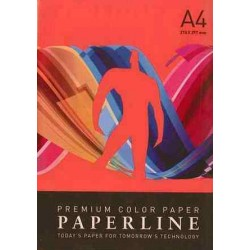 PAPEL COLOR A4 80 GRS. 500 H. ROJO INTENSO