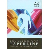 PAPEL COLOR A4 80 GRS. 500 H. AZUL CLARO