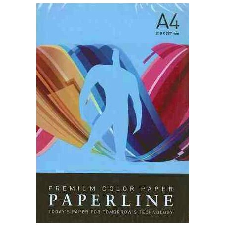 PAPEL COLOR A4 80 GRS. 500 H. AZUL INTENSO