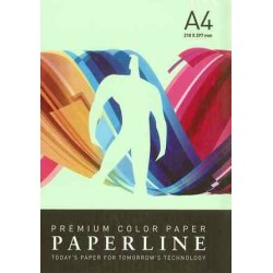 PAPEL COLOR A4 80 GRS. 500 H. VERDE CLARO