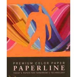 PAPEL COLOR A3 80 GRS. 500 H. NARANJA INTENSO