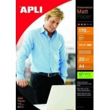 PAPEL APLI MATT QUALITY 170GRS A4 DOBLE CARA 10418