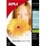 PAPEL APLI EVERYDAY DIN A4 180GRS 100H 11475