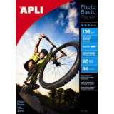 PAPEL APLI PHOTOBASIC GLOSSY 135GRS. 60H 04134