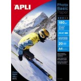 PAPEL APLI PHOTOBASIC GLOSSY 180GRS. 60 H.