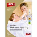 PAPEL APLI PHOTO SATIN 200GRS. 60H. 04136
