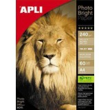 PAPEL APLI PHOTO BRIGHT 200 GRS. 60H. 04137