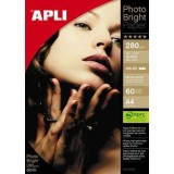 PAPEL APLI PHOTO BRIGHT 240 GRS. 60H 10413