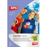 (L) PAPEL TRANSFER CAMISETAS OSCURAS B/5H 10247