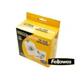 FUNDA CD/DVD PAPEL BLANCA 50 UDS