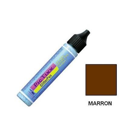 (L) PINTURA PICTIXX PLUSTER 25 ML MARRON