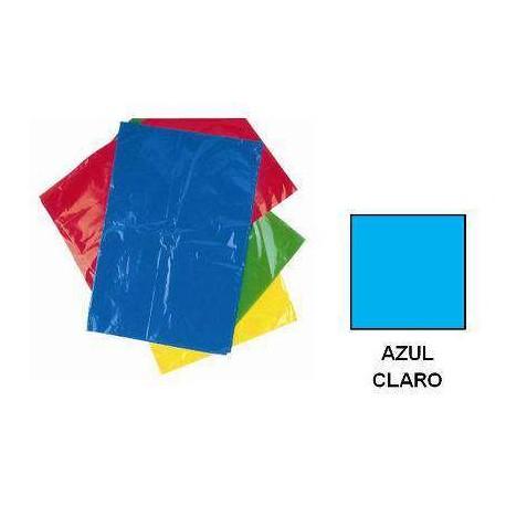 BOLSA DISFRACES PLASTICO 65X90 AZUL CLARO