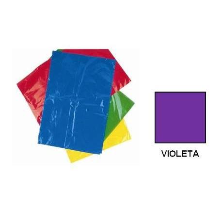 BOLSA DISFRACES PLASTICO 65X90 VIOLETA